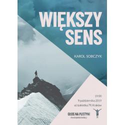 Większy sens - Karol Sobczyk